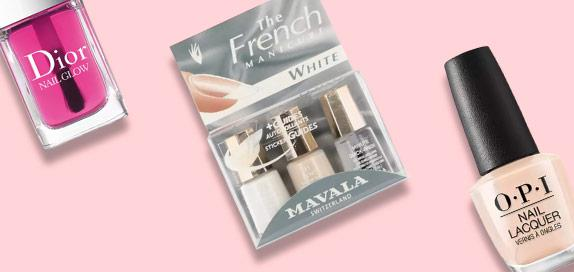 French Manicure Nail Polish and Sets