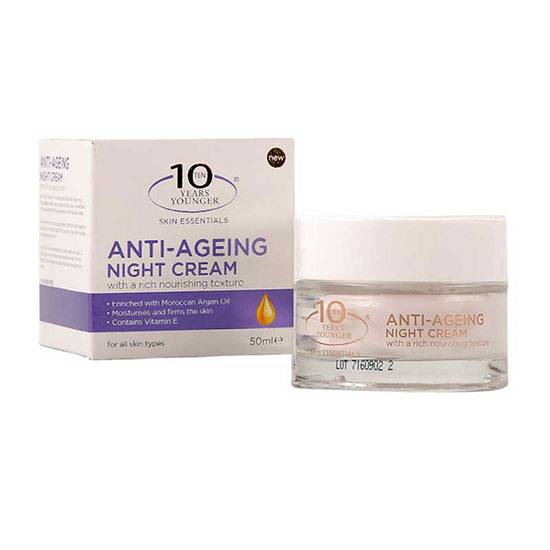10 Years Younger Anti Ageing Night Cream