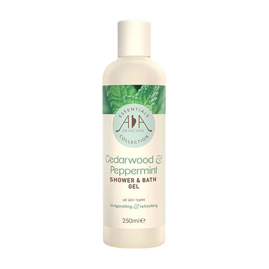 AA Skincare Cedarwood and Peppermint Shower and Bath Gel 250ml
