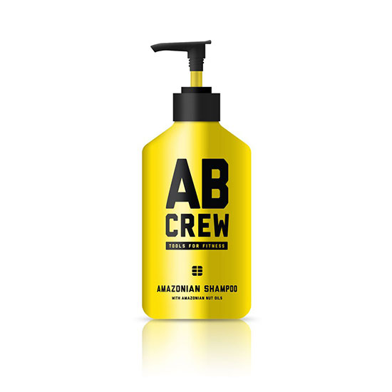 AB CREW Men's Amazonian Shampoo 480ml