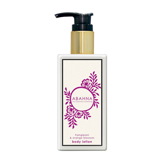 Abahna Frangipani & Orange Blossom Body Lotion 250ml
