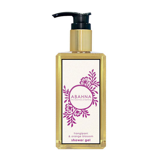 Abahna Frangipani and Orange Blossom Shower Gel 250ml