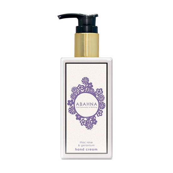 Abahna Lilac Rose & Geranium Hand Cream 250ml