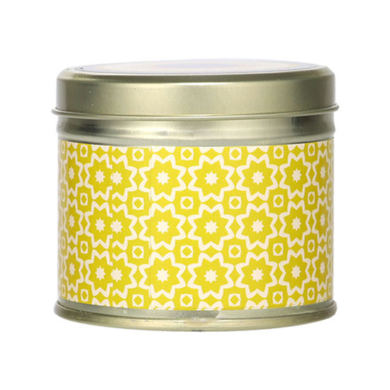 Abahna Narcissus & Wild Iris Scented Candle Tin 160g