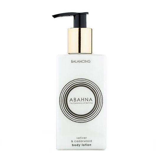 Abahna Vetiver & Cedarwood Body Lotion 250ml