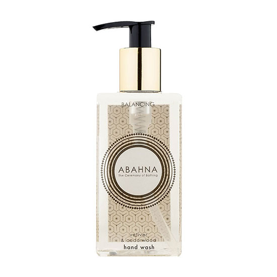 Abahna Vetiver and Cedarwood Hand Wash 250ml