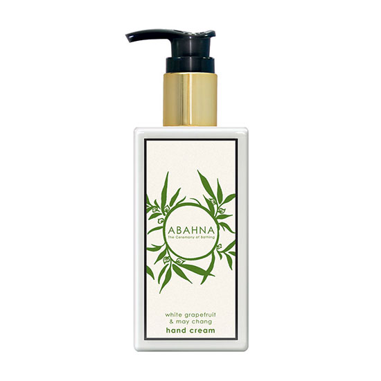 Abahna White Grapefruit and May Chang Hand Cream 250ml