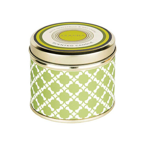 Abahna White Grapefruit and May Chang Tin Candle 160g