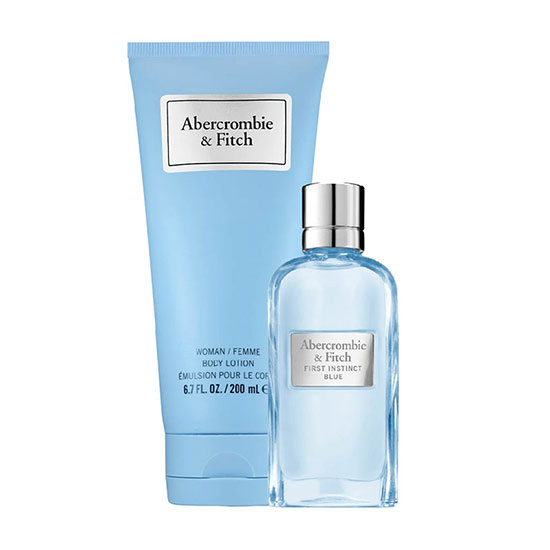 Abercrombie & Fitch First Instinct Blue For Her Eau de Parfum Spray Gift Set