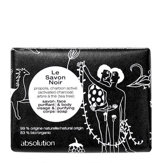 Absolution Le Savon Noir Face & Body Purifying Soap