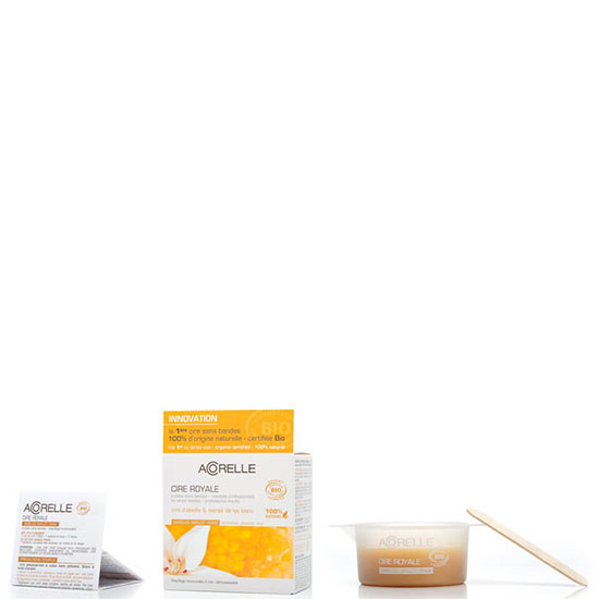 Acorelle Royal Wax Underarms, Bikini Line and Face Beeswax 100g