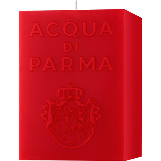 Acqua di Parma Large Cube Candle Red Spicy 1KG