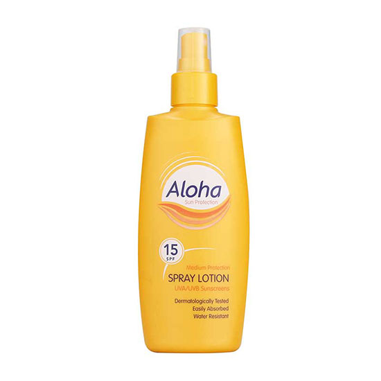 Aloha SPF15 Sun Lotion Spray