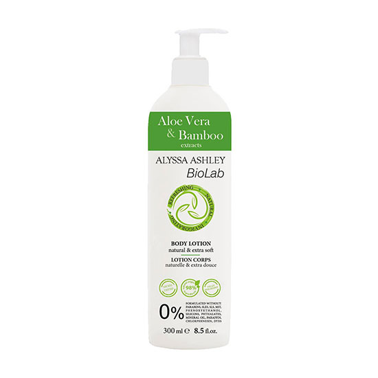 Alyssa Ashley BioLab Aloe Vera & Bamboo Body Lotion
