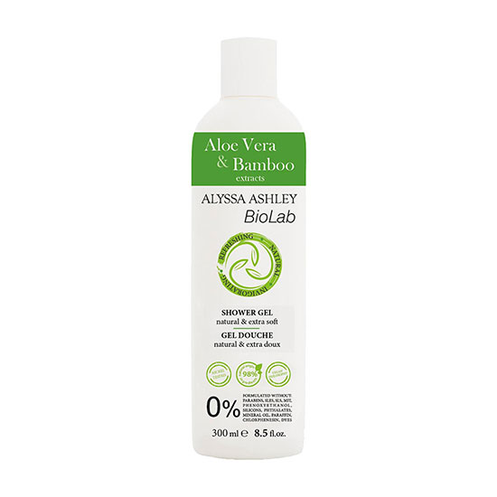 Alyssa Ashley BioLab Aloe Vera & Bamboo Shower Gel