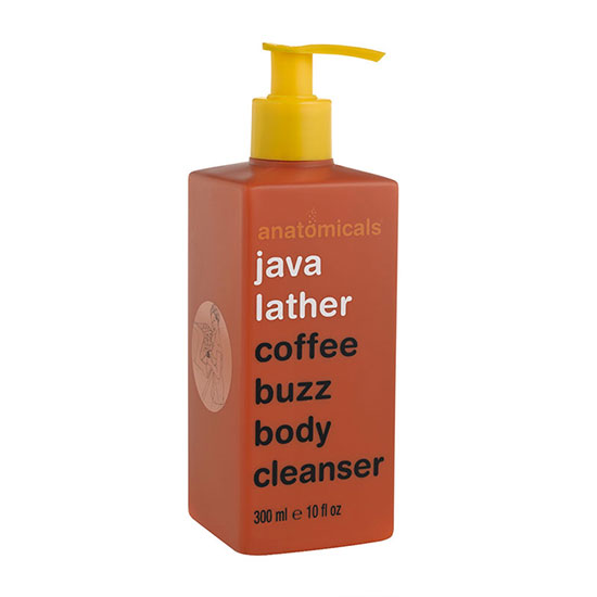 Anatomicals Java Lather Coffee Buzz Body Cleanser