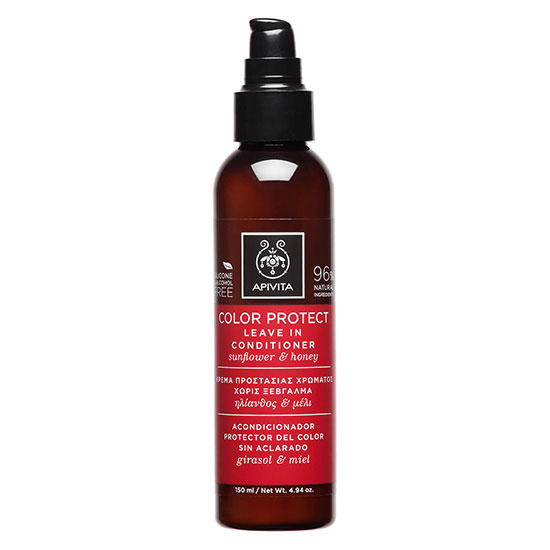 APIVITA Holistic Hair Care Colour Protect Leave In Conditioner Sunflower & Honey