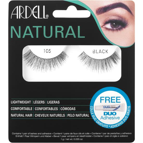Ardell Natural Lashes Black 105