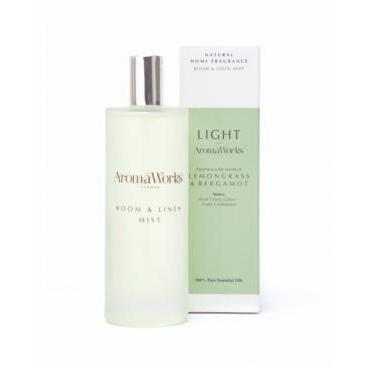 Aroma Works Light Range Room Mist Lemongrass & Bergamot Lemongrass & Bergamot