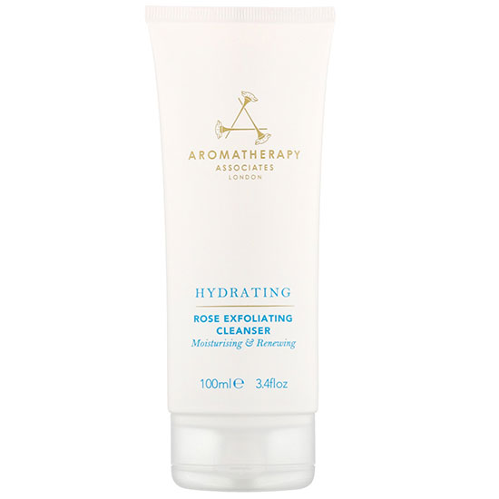 Aromatherapy Associates Skin Care Hydrating Rose Exfoliating Cleanser 100ml