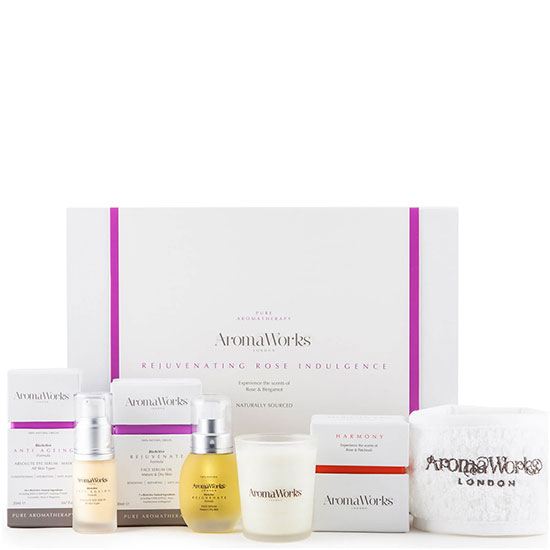 Aroma Works Rejuvenating Rose Indulgence Gift Set