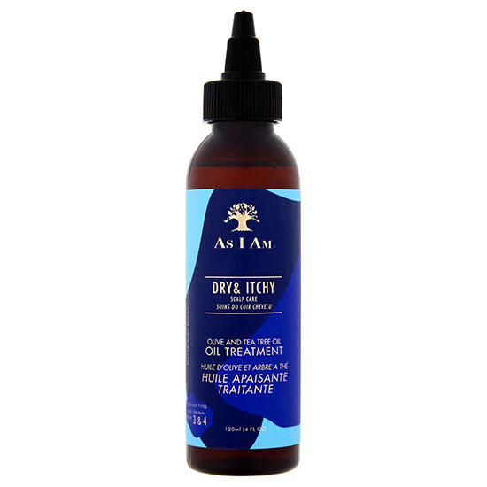 As I Am Dry & Itchy Scalp Care Olive & Tea Tree Oil Treatment 120ml