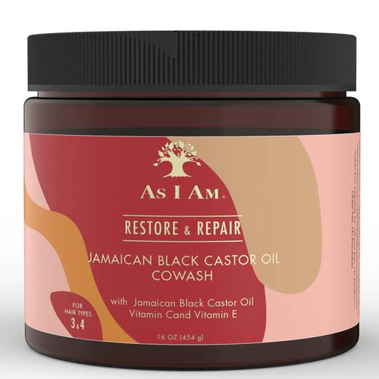 As I Am Jamaican Black Castor Oil CoWash 454g