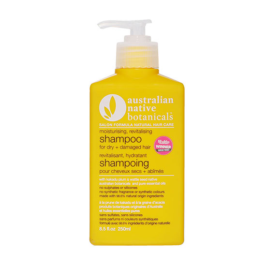 Australian Native Botanicals Dry and Damaged Hair Shampoo 250m