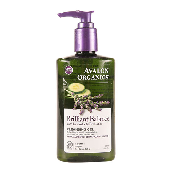 Avalon Organics Brilliant Balance Cleansing Gel