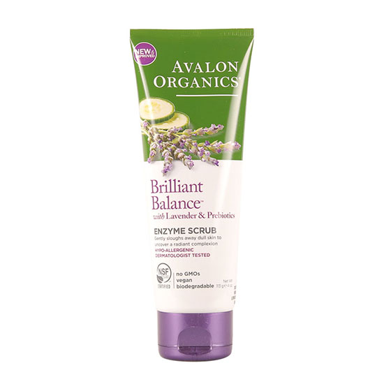 Avalon Organics Exfoliating Enzyme Scrub