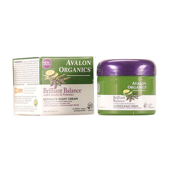 Avalon Organics Lavender Ultimate Night Cream