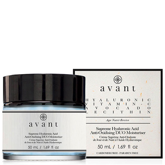 Avant Skin Care Supreme Hyaluronic Acid Anti-Oxidising Duo Moisturiser