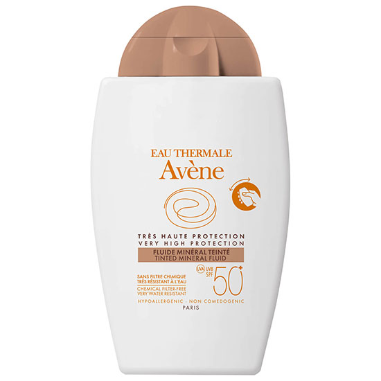 Avène Tinted Mineral Fluid SPF50+