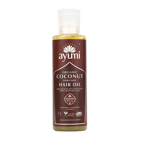 Ayumi Coconut Enriched Hair Oil