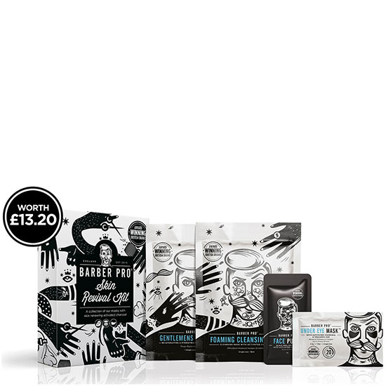 BARBER PRO Skin Revival Mask Set