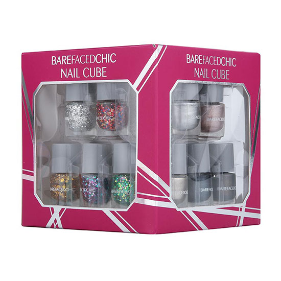 Bare Faced Chic Nail Cube Gift Set