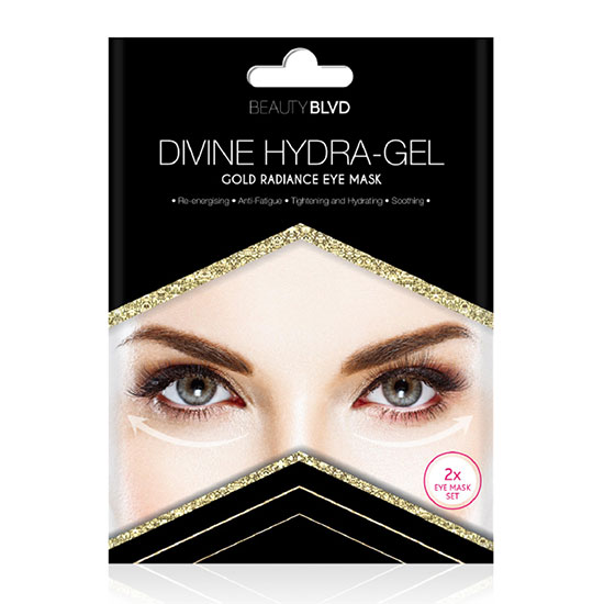 Beauty Blvd Divine Hydra Gel Gold Radiance Eye Mask (2x 15.5g)