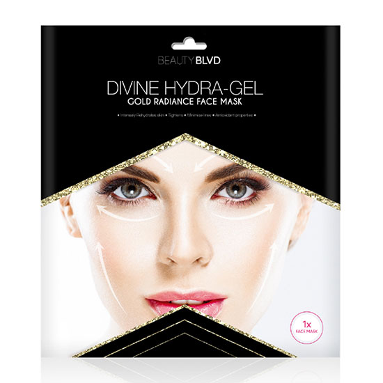 Beauty Blvd Divine Hydra Gel Gold Radiance Face Mask(1 x134g)
