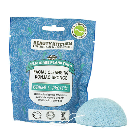 Beauty Kitchen Blue Chamomile Konjac Sponge