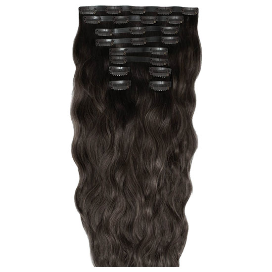 Beauty Works 18 Inch Beach Wave Double Hair Extension Set