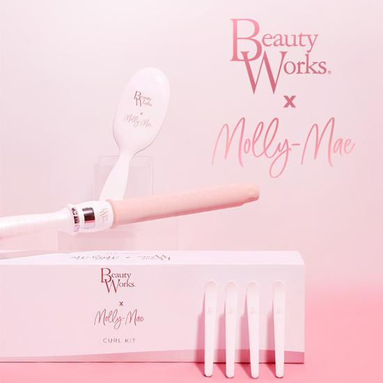 Beauty Works X Molly Mae Curl Kit