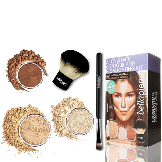 Bellapierre Cosmetics All Over Face Highlight & Contour Kit