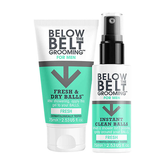 Below the Belt Grooming Gift Box Fresh Collection