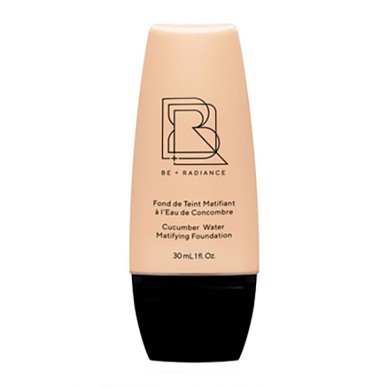 BE+RADIANCE Cucumber Water Matifying Foundation Shade