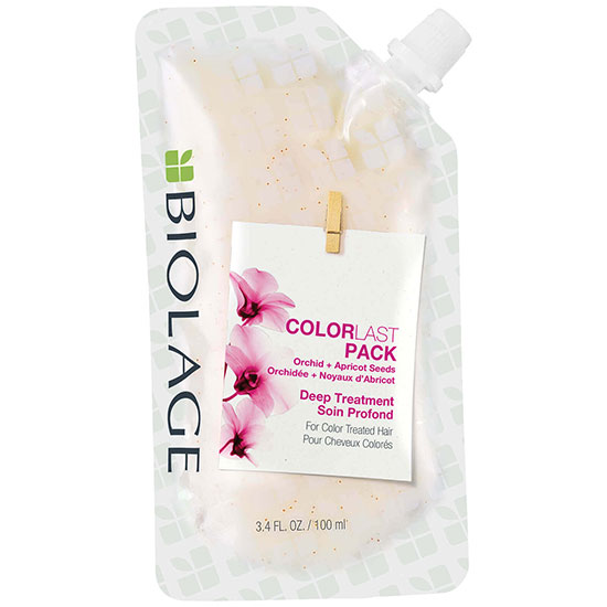 Biolage ColorLast Coloured Hair Mask Deep Treatment Pack Colour Protect Mask For Coloured Hair 100ml
