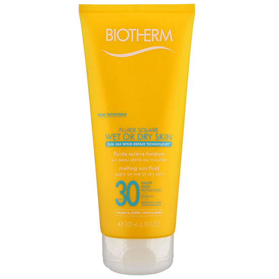 Biotherm Fluid Solaire Wet Or Dry Skin Melting Sun Fluid SPF30 200ml