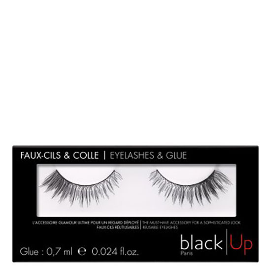black Up False Eyelashes 02