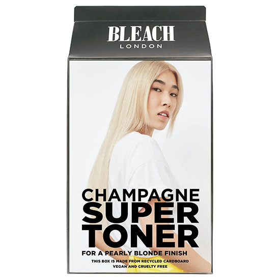 BLEACH LONDON Champagne Super Toner Kit For a Pearly Blonde Finish