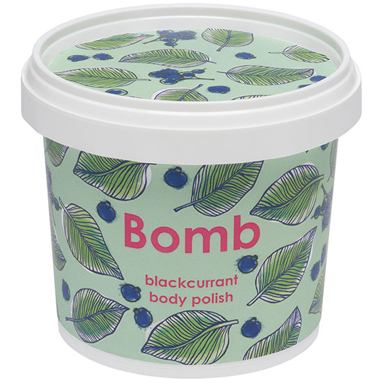 Bomb Cosmetics Body Scrub & Polish Blackcurrant Body Polish 375g