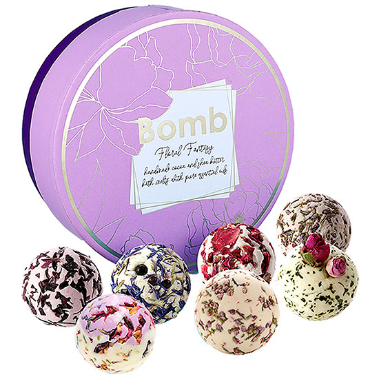 Bomb Cosmetics Christmas 2019 Floral Fantasy Gift Pack